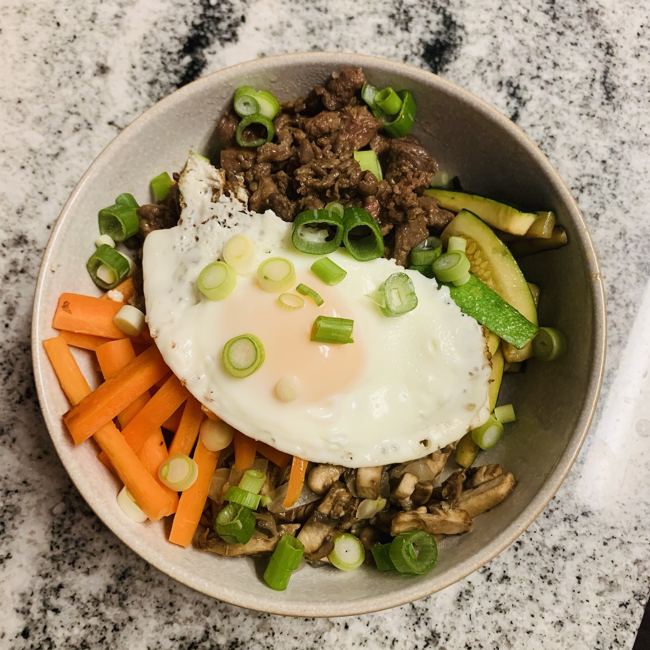 Simple Bibimbap Recipe