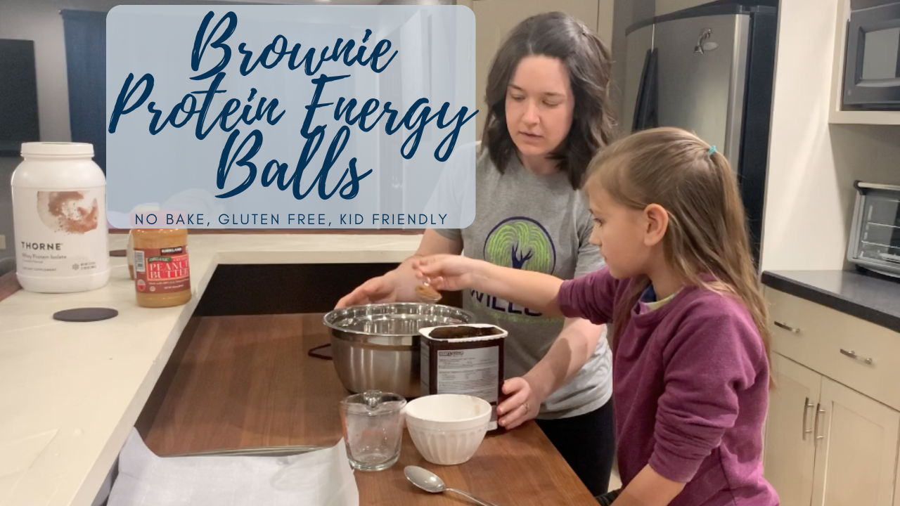 Brownie Protein Energy Ball Recipe